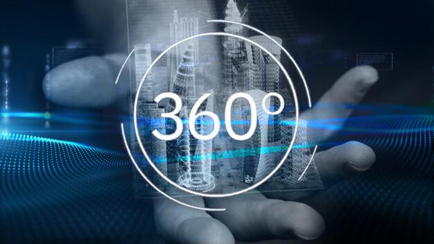 Maquette 360° Be-Mood avec découpe des étages et gestion des ventes